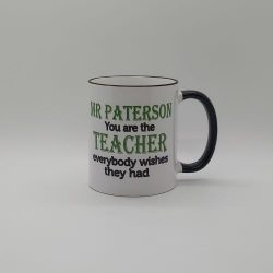 Personalised Teacher or Teaching Assistant Mug