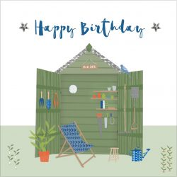 Birthday Man Shed