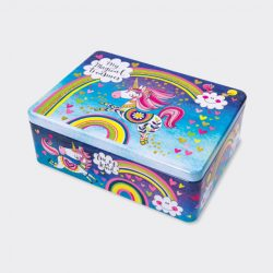 Rectangular Tin ‐ Magical Treasures/Unicorn