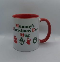 Personalised Christmas Eve Mug This May Contain Alcohol Female