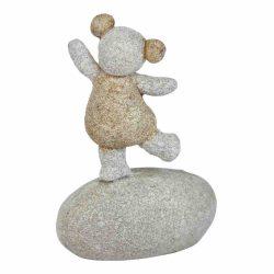 Girl Pebble Ornament