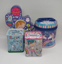 Kids Treasure Tins