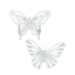 Opaque Butterfly Hanging Decoration