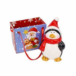 Penguin Figure Christmas Decoration in a Bag