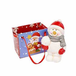 Snowman Figure Christmas Decoration in a Bag