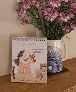 2021 Rosie Made a Thing Desk Calendar