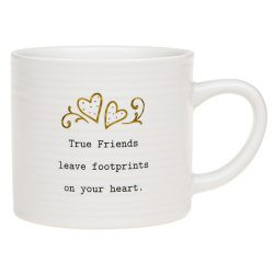 Thoughtful Words Mug True Friends