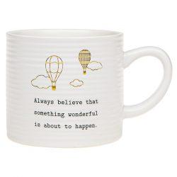 Thoughtful Words Mug Believe