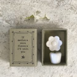 East of India Match Box - Mothers Were Flowers