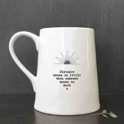 East of India Porcelain Mug - Distance