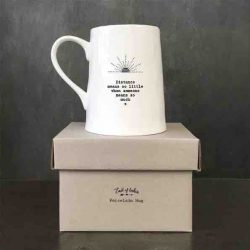 East of India Porcelain Mug - Distance Box