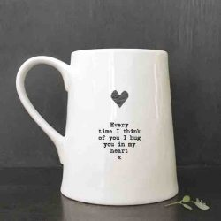 East of India Porcelain Mug - Everytime
