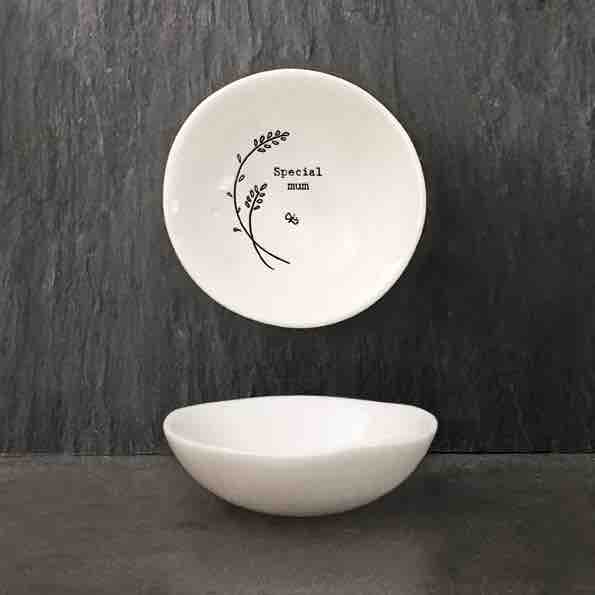 East of India 'Special Mum' Small Porcelain Bowl