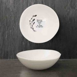 East of India 'Wherever Path' Medium Hedgerow Bowl