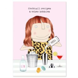 A6 Notebook - Cocktail Recipes Notepad