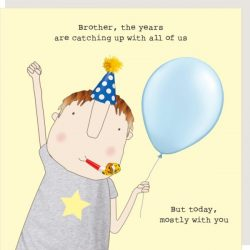 Rosie Made a Thing Card - Brother Years