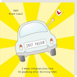 Rosie Made a Thing Card - Driving Test