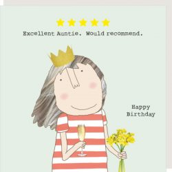 Rosie Made a Thing Card - Five Star Auntie