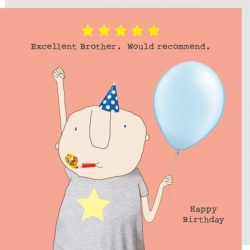 Rosie Made a Thing Card - Five Star Brother