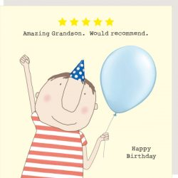 Rosie Made a Thing Card - Five Star Grandson