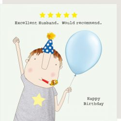 Rosie Made a Thing Card - Five Star Husband