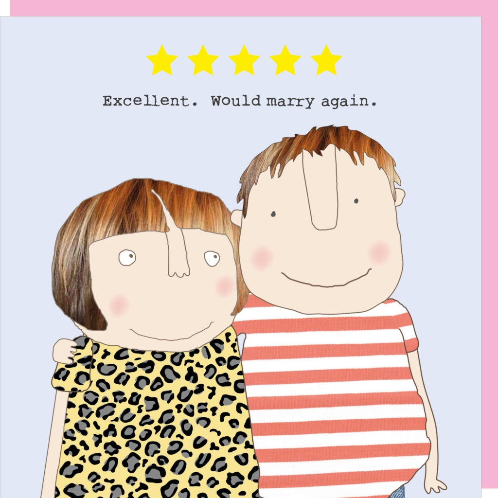 Rosie Made a Thing Card – Five Star Love