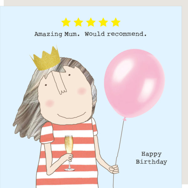 Rosie Made a Thing Card - Five Star Mum