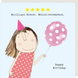 Rosie Made a Thing Card - Five Star Niece