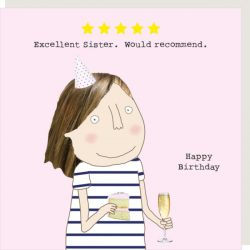 Rosie Made a Thing Card - Five Star Sister