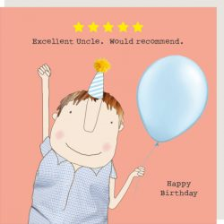 Rosie Made a Thing Card - Five Star Uncle
