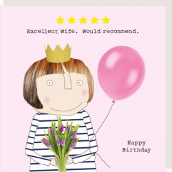 Rosie Made a Thing Card - Five Star Wife