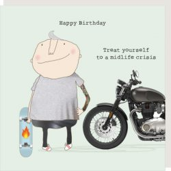 Rosie Made a Thing Card - Midlife Crisis