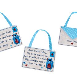 Tooth Fairy Envelope in Blue