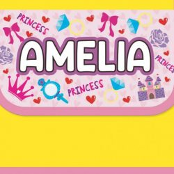 personalised-cool-bags-for-kids-princess-amelia