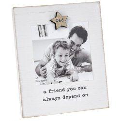 Caring Words 'Dad' Magnet Frame