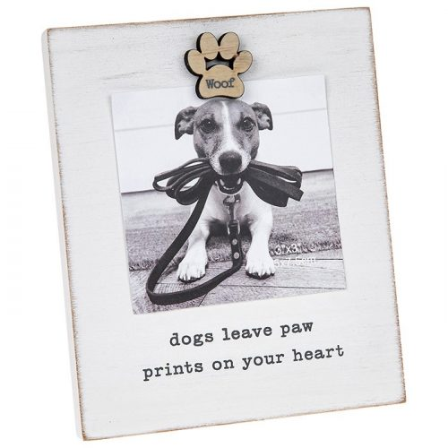 Caring Words 'Dog' Magnet Frame