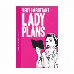 Notes 'N' Quotes Notebook 'Lady Plans'