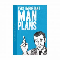 Notes 'N' Quotes Notebook 'Man Plans'