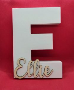 Personalised Alphabet Letter