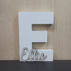 Personalised Letter & Name