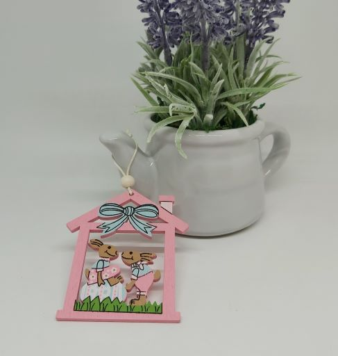 Pink Easter House Decoration