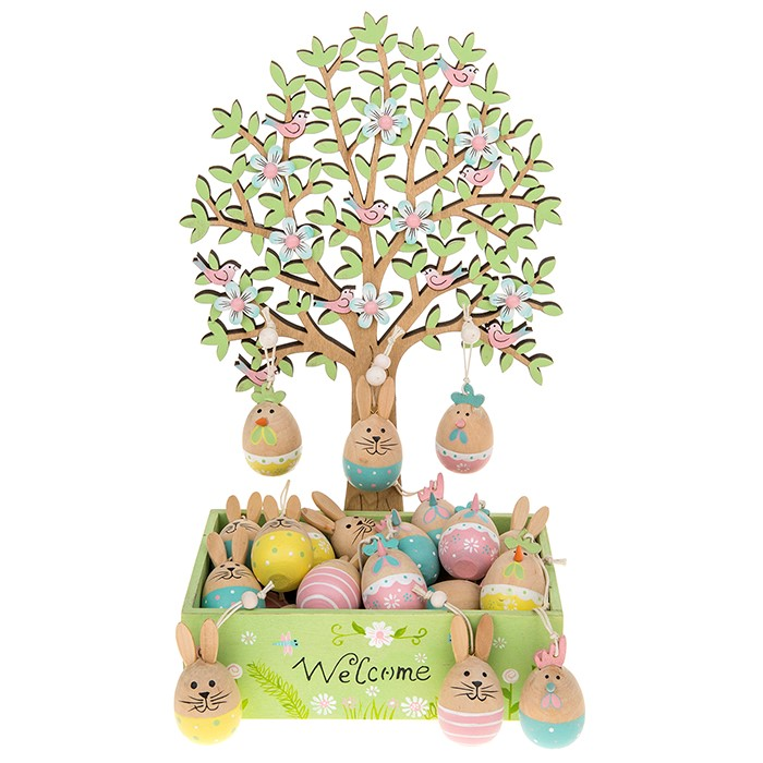 easter-tree-wooden-bunny-chick-eggs