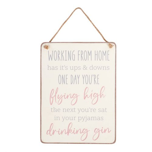 funny-working-from-home-plaque