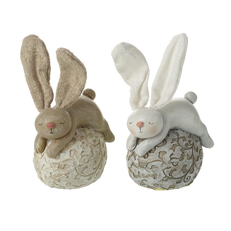 lying-rabbit-and-egg-decoration