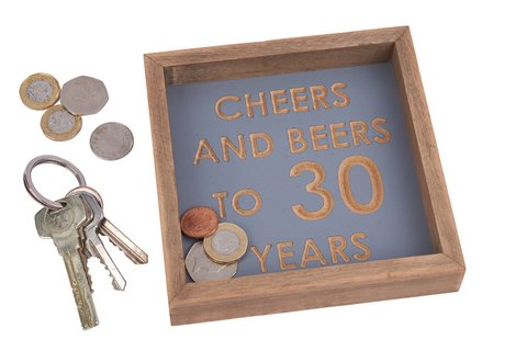 Cheers and beers to 30 years