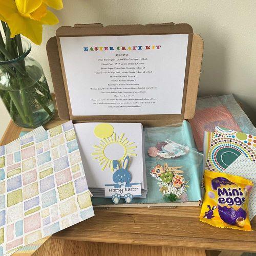 Easter Craft Kit Boy & Personalised Easter Mug
