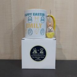 Easter Craft Kit Girl & Personalised Easter Mug
