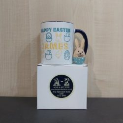 Easter Craft Kit Boy & Personalised Easter Mug