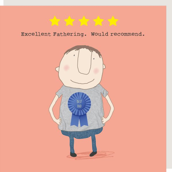 Excellent Fathering. Would Recommend. Card