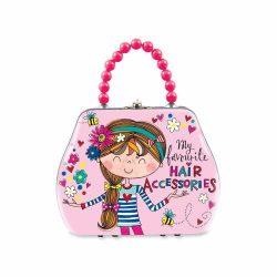 My Favourite Hair Accessories Handbag Tin Reverse